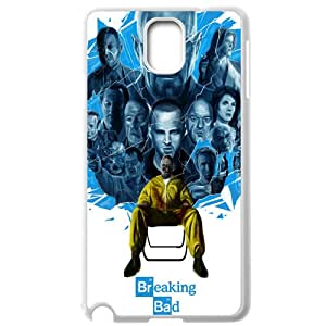 Breaking Bad Samsung Galaxy Note 3 White Phone Case Gift Holiday Gifts Souvenir Halloween gift Christmas Gifts TIGER154674
