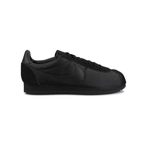 more photos d2a7a 20e72 Nike Classic Cortez Nylon, Scarpe da Ginnastica Uomo, Blu Navy White, 40.5  EU  Amazon.it  Scarpe e borse