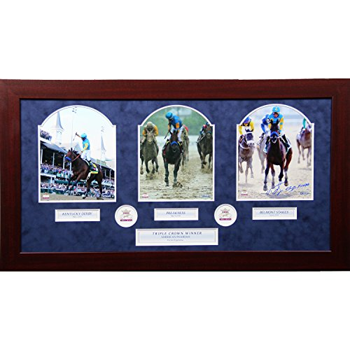 Steiner Sports Victor Espinoza Signed Framed Photo, 8'' x 10'' by Steiner Sports