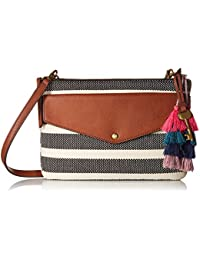 Devon Crossbody Black Stripe
