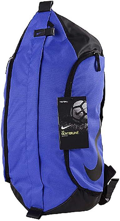 infraestructura Temporada Familiar  Amazon.com: Nike Centerline Soccer Backpack Royal Blue BA5316-452: Clothing