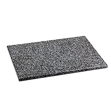 Home Basics CB01881 Granite Cutting Board, Large, Gray