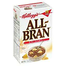 All-Bran Cereal, 1.76-Ounce Single Serve Packs (Pack of 70)