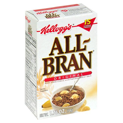 Amazon.com: All-Bran Cereal, Complete Wheat, 18-Ounce