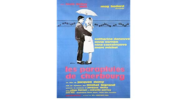 Amazon.com: The Umbrellas of Cherbourg POSTER Movie (1964) Foreign Style B 11 x 14 Inches - 28cm x 36cm (Catherine Deneuve)(Nino Castelnuovo)(Anne ...