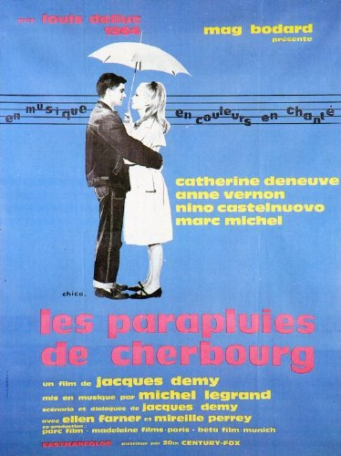 The Umbrellas of Cherbourg POSTER Movie (1964) Foreign Style B 11 x 14 Inches