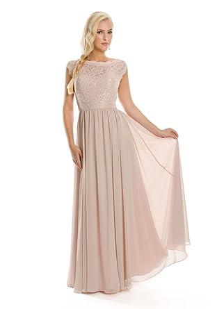 VIP Dress Abendkleid Chiffon / Ballkleid lang / Standesamtkleid ...