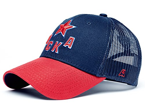 HC CSKA Moscow KHL Trucker hat, dark blue/red