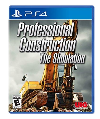 Uig Entertainment Professional Construction Simulator PlayStation 4