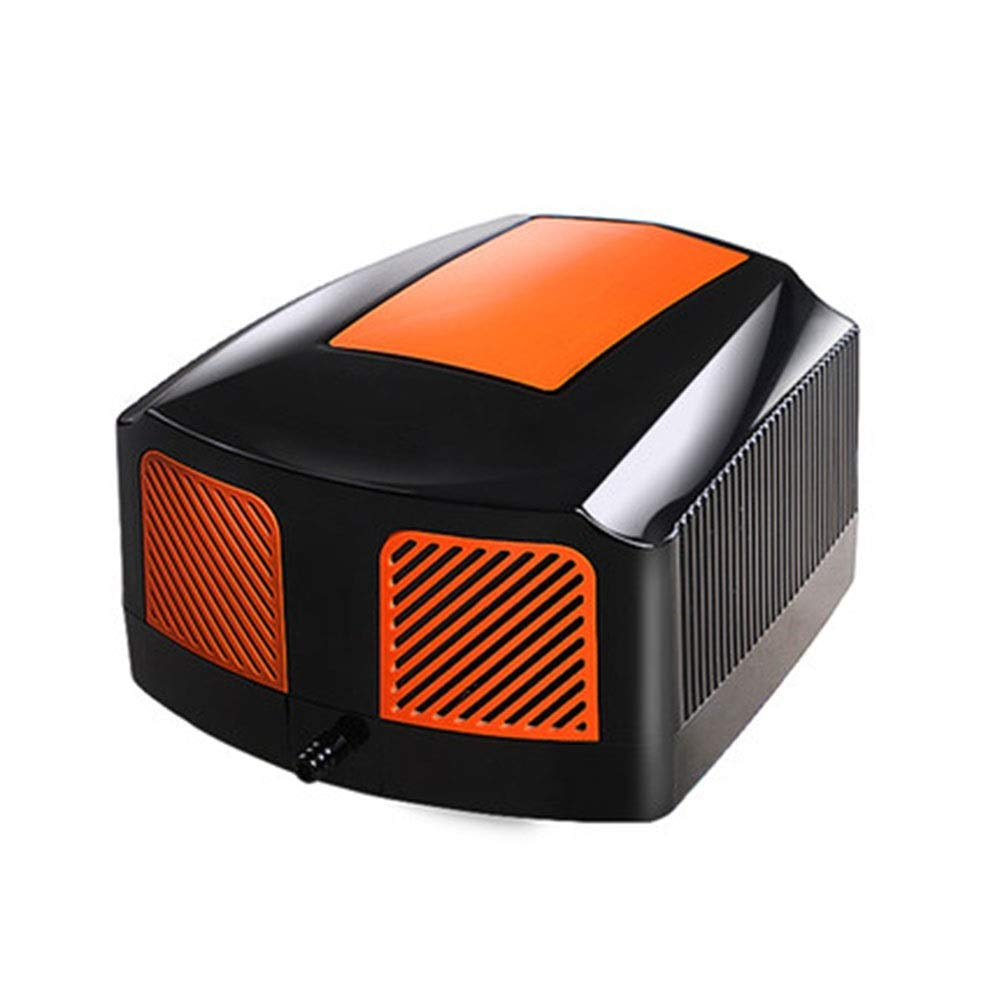 LIFUREN Fish Tank Oxygen Pump Oxygen Pump Very Silent Aeration Pump High Power Oxygen Machine Oxygen Pump (Color : Orange, Size : A)