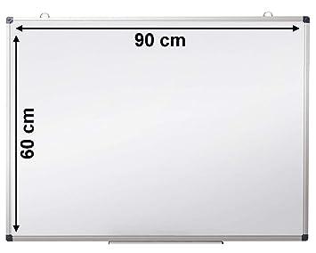 Pizarra blanca magnetica OFIBIT con marco de aluminio. Alta ...