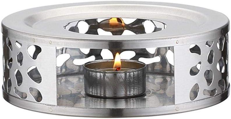 Janny-shop Calentador de Tetera de Acero Inoxidable con Dise/ño de Marco Hueco para Tetera de Vidrio Tetera de Hierro Fundido y Tetera de Cer/ámica