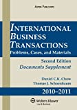 img - for International Business Transactions 2009 Supplement book / textbook / text book