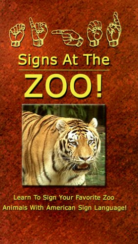 Signs At The ZOO! [VHS]