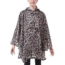 reisenthel Mini Maxi Poncho, Rain Jacket, Rain Coat, Rain Cape, Foldable, One Size Fits All, Baroque Taupe, AN7009