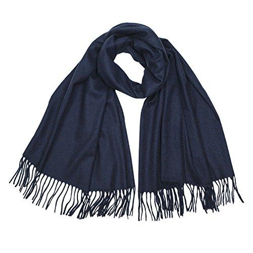 Johnstons of Elgin - Pure Cashmere Wrap (Royal (Johnstons Cashmere)