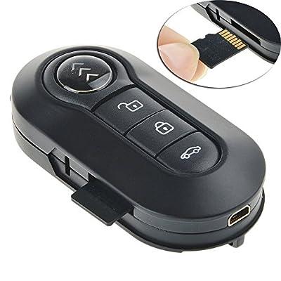 SpyGear-Fund Hd 1080p Car Key Remote Spy Camera Night Vision Motion Detector - FunD