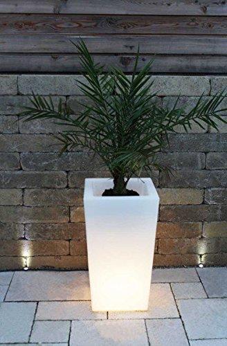 Pflanzkübel Pflanzsäule GlowTub square H: 70cm beleuchtet günstig ...