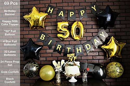 50Th Birthday Cake Bags - 3