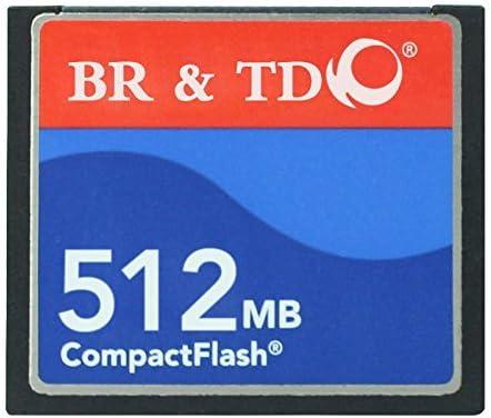 Ogrinal 512MB Type I 80X Compact Flash memory card BR&TD camera card CNC machine cf512mb card [並行輸入品]