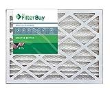 FilterBuy 20x20x4 MERV 13 Pleated AC Furnace Air