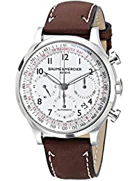 Men's 10000 Capeland Silver Chronograph Dial Watch