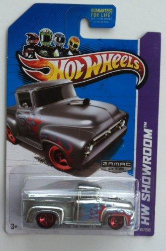 Amazon Com Hot Wheels 1 64 Scale Hw Showroom Custom 56 Ford F 100