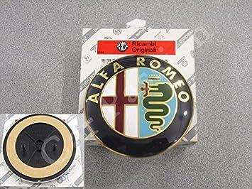 Escudo Logo Alfa Romeo GT trasera Fregio Original 74 mm: Amazon.es: Coche y moto