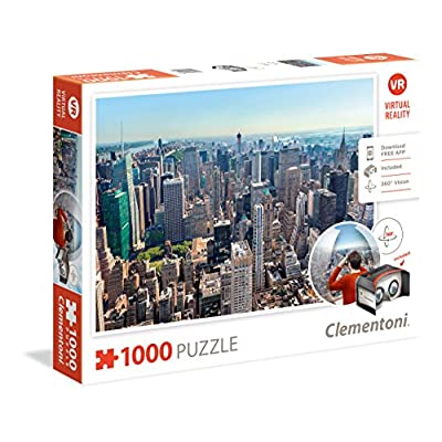Clementoni 39401 Puzzle 1000 Virtual Reality New York