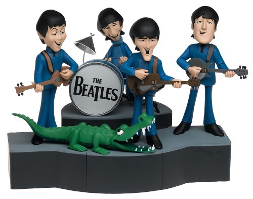 McFarlane Toys Rock 'n Roll Deluxe Action Figure Boxed Set Beatles Cartoon ()