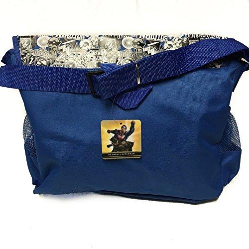 Batman vs Superman Blue Duffle Bag/gym Bag/travel Bag by Disney