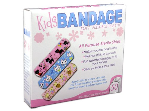 Review BANDAGES WITH KID'S DESIGN