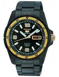 Seiko 5 Sports #SNZG75K1 Men's 23 Jewels Black IP 100M Automatic Diver Watch