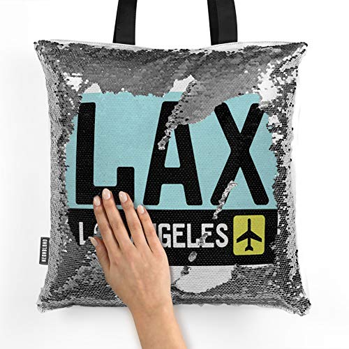 NEONBLOND Mermaid Tote Handbag Airport code LAX/Los Angeles country: United States Reversible Sequin