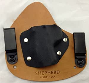 Conceal Micro- Left Handed, Horse Hide, Ruger LCP w/ Laser Lyte- Shepherd Lea...