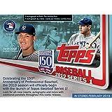 2019 Topps Baseball Series 1 Factory Sealed 24 Pack Hobby Box and 1 Silver Pack - Topps Baseball Cards