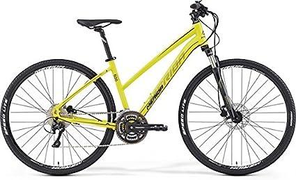 Merida Crossway 500 - Bicicleta de cross de 28 pulgadas para mujer, color amarillo (2016), 46: Amazon.es: Deportes y aire libre