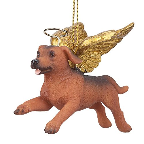 Christmas Tree Ornaments - Honor The Pooch Dachshund Holiday Angel Dog Ornaments Dachshund Angel Dog Ornament