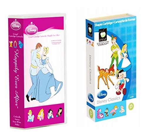 Price comparison product image Cricut Disney Cartridge: Bundled Best of Classics & Happily Ever After