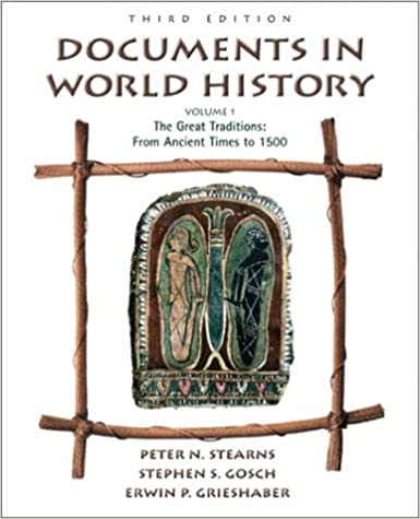 Book Documents in World History, Volume I: From Ancient Times to 1500 (3rd Edition)