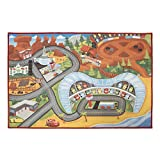 Disney Pixar Cars 3 Interactive Game Rug (31.5 inch x 44 inch)