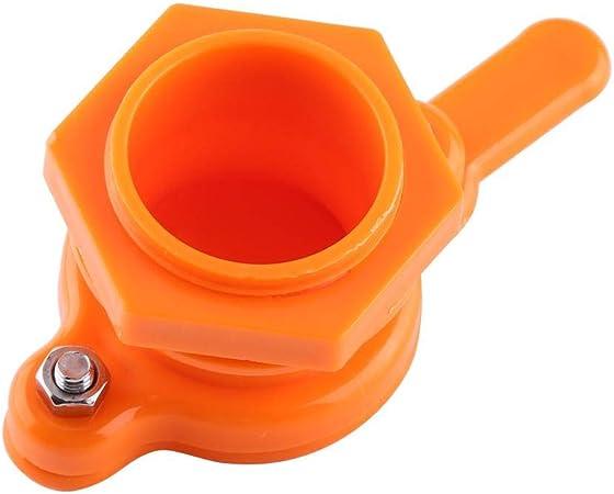 Orange Honig Quetschhahn Kunststoff Absperrschieber Bienenzucht Werkzeug