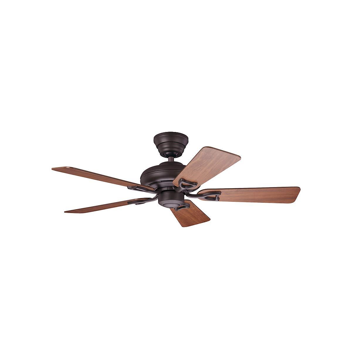 Ventilateur de Plafond Seville II /Ø h/élice 1120 mm merisier fonc/é//ch/êne mi-Clair//Bronze Neuf Climatiseur Climatiseurs Ventilateur Ventilateur de Plafond Ventilateurs Ventilateurs de Plafond