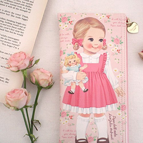 paperdollmate pencase ver002_rose Julie by paper doll mate (Image #1)