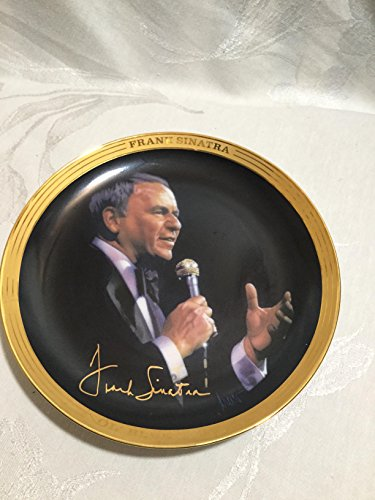 FRANKLIN MINT FRANK SINATRA COLLECTOR'S PLATE PLAYS MY WAY