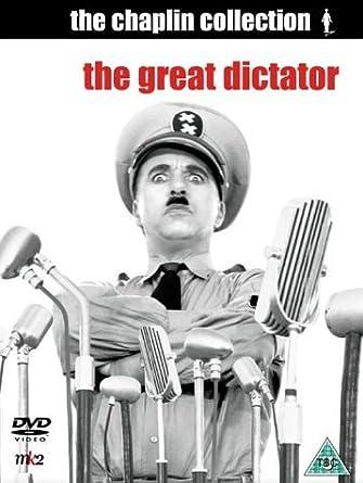 Amazon com: Charlie Chaplin: The Great Dictator [Non-US
