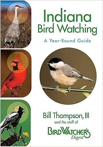 Indiana Bird Watching: Bill Thompson III: 0789172001281: Amazon.com: Books