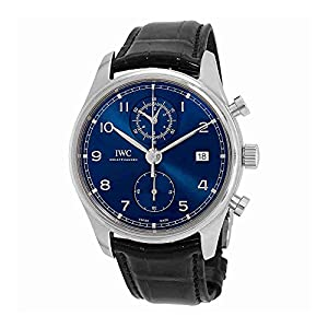 51RMHGWAc1L. SS300  - IWC Portugieser Chronograph Automatic Blue Dial Mens Watch IW390303