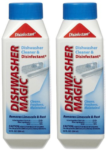 Dishwasher Magic Dishwasher Cleaner & Disinfectant, 12 oz-2 pk (Dishwasher Magic Dishwasher compare prices)