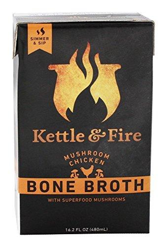 Kettle And Fire Broth Mushroom Chicken Bone, 16.2lb (us)